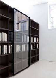 livingroom bookcase with sliding doors furniture the web metal bookshelf ameriwood glass white low alluring modern