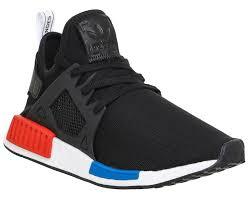 adidas shoes nmd black. adidas-nmd-xr1-black-red-blue-white-pk- adidas shoes nmd black