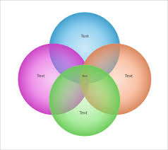 Circle Charts That Overlap 8 Circle Venn Diagram Templates Word Pdf Free