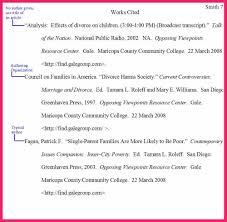 Mla Works Cited Page Format Sop Examples Resume Samples