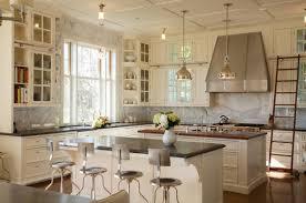 Kitchen Peninsula For Small Kitchens Kitchen Peninsula Ideas Large Concrete Tile Floor Single Bowl Sink