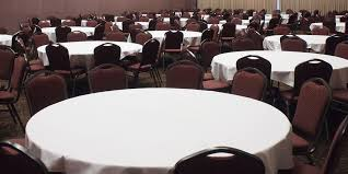long tables round tables