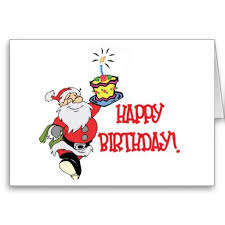 Christmas Birthday Cards Christmas Birthday Card Zazzle Com Christmas Photos