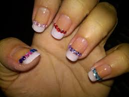 French tip nail design ideas - how you can do it at home. Pictures ...