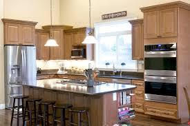 cinnamon maple glazed cabinet