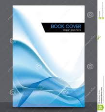Free Cover Templates Blue Wave Vector Brochure Booklet Cover Design T Stock