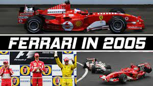F1 Bad Seasons Ferrari S 2005 Season Youtube