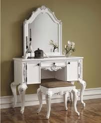 White Bedroom Vanity With Mirrors - Bedroom Vanities Design Ideas ...