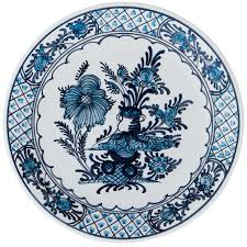 Blue And White China Pattern Adorable Blue And White China Garden Flowers