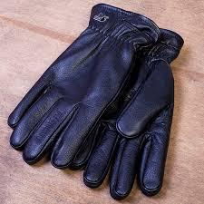 Peaceful Hooligan Trapper Кожаные перчатки с флисовым ...