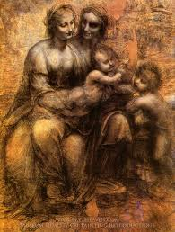 leonardo da vinci virgin and child with st anne and st john the