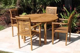 48in round table atlantic armchair set 2