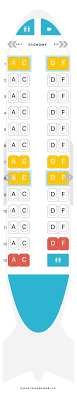 Challenger 890 Seating Chart Seatguru Seat Map Air Canada Seatguru