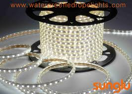 epistar chip cool white led rope lights anti uv pvc submersible led rope lights