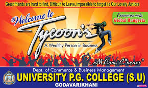 Tycoons freshers party banner design template free - naveengfx