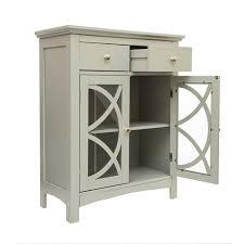 modern 32 inch bathroom floor cabinet with glass doors