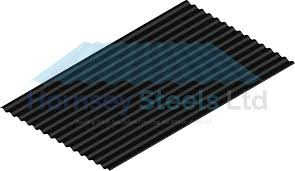 14 3 corrugated profile jet black