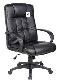 office leather chair. High Back PU Leather Office Chair Lumbar Support EBay
