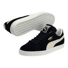 puma shoes suede black. puma suede classic+ trainers shoes black
