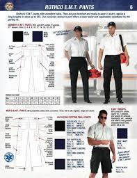 Rothco Pants Size Chart Rothco Public Safety Catalog