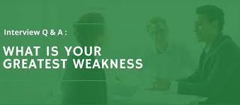 what is your weakness interview question best answer to what s your greatest weakness interview question