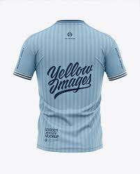 Are you looking jersey mockup to showcase your artwork? Men S V Neck Soccer Jersey T Shirt Mockup Back View Football Jersey T Shirt In Apparel Mockups On Yellow Images Object Mockups