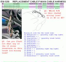 e39 tail light wiring diagram e39 image wiring diagram tail light issue strange noise below the hood bimmerfest bmw on e39 tail light wiring diagram