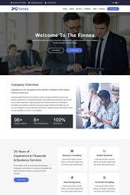Finnex Startup Landing Page Template 75924