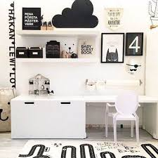 8 stylish ikea hacks for a black and white kids room the junior