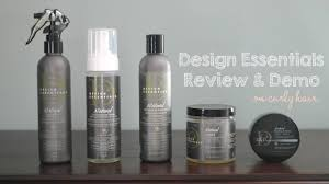 Design Essentials Hair Products Design Essentials Natural Hair Products Review