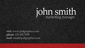 visting card format boutique business card psdgraphics