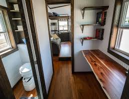 tiny house office. beautiful house the triton by wind river tiny homes custom office space with built in  shelves and with house office