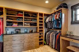 Master Bedroom Closet Rustic Closet