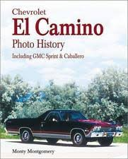 el caballero in manuals literature chevrolet el camino history gmc sprint and caballero book