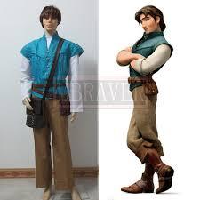 big free custom made tangled prince flynn rider cosplay costume flynn