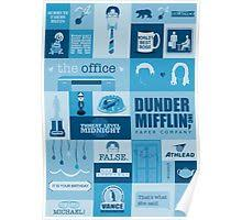 Poster The Office The Office Posters By Cat Obrien Redbubble
