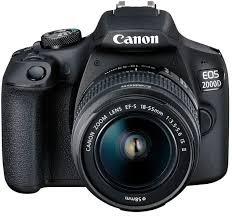 Купить Зеркальный <b>фотоаппарат CANON EOS</b> 2000D kit ( 18 ...