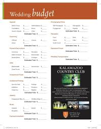 Wedding Planning Budget Use Our Wedding Budget Worksheet To Assist You In Planning For