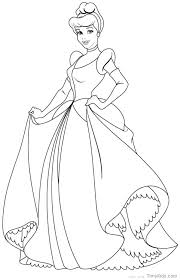 Princess Coloring Pages Printable P4347 Princess Coloring Pages To