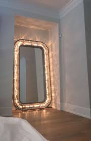Full Size Mirror With Lights Light Up Floor Mirror Kylie Jenner Jenner House Kylie
