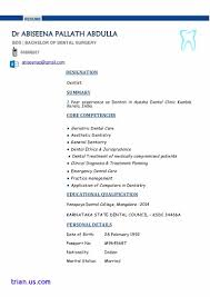 Dental Hygienist Resume Example. Dental Resumes Sample Inspirational ...