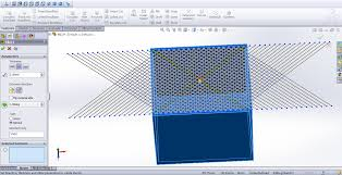 A Necessary Feature Of Pattern Is Magnificent How To Model A Mesh In Solidworks GrabCAD Tutorials