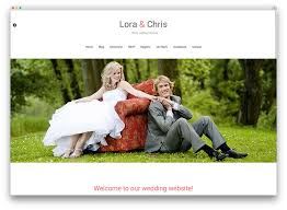 Wedding Website Template Beauteous 28 Beautiful And Free WordPress Wedding Themes 2818 Colorlib
