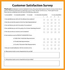 Free Customer Satisfaction Survey Example Customer Needs Survey Template 290934606656 Free Customer