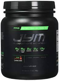 jym supplement science pre jym natural island punch pre workout with bcaa s