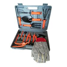 china 12 pieces set carrying case plant care garden tools set china tools set garden tools set