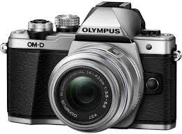 <b>Olympus OM</b>-<b>D E</b>-<b>M10</b> Mark II Kit 14-42 II R, Silver цифровая ...