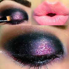 super chic shimmer purple eye makeup ideas