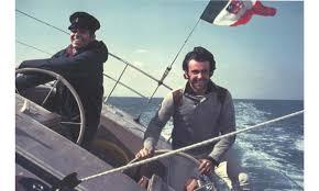 Un giovanissimo Tilli Antonelli con Raul Gardini a bordo di Naif –  Gentedimare2.0
