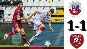 Cittadella vs reggina vs 1-1 extended highlights all goals 2021 - YouTube